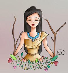 Pocahontas by LapinPik