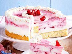 Unser beliebtes Rezept für Himbeer-Quark-Torte und mehr als 55.000 weitere kostenlose Rezepte auf LECKER.de.