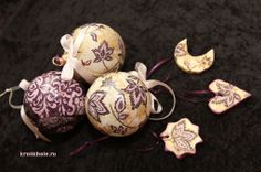 christmas decoration, decoupage