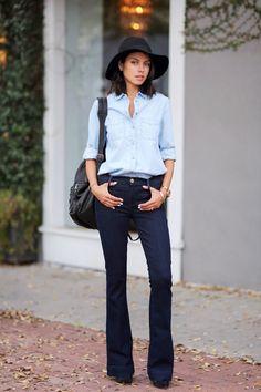 Looks Inspiração: Look: All Jeans