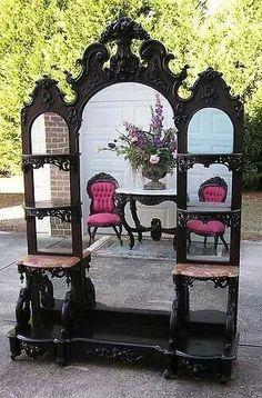 victorian furniture Black-and-white Home Furniture Trends