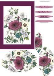 Burgandy Flowers