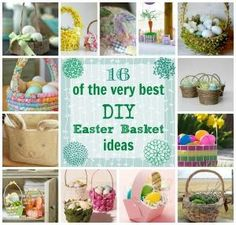 16 of the Very Best DIY Easter Basket Ideas by mona