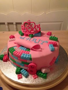 Lego frends princessen taart