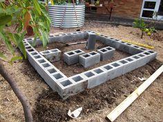 Resultado de imagen de how to build a floating deck on dirt Building A Floating Deck, Building A Pergola, Building A Shed, Building Plans, Pallet Decking, Laying Decking, Concrete Deck Blocks, Concrete Slab, Deck Framing