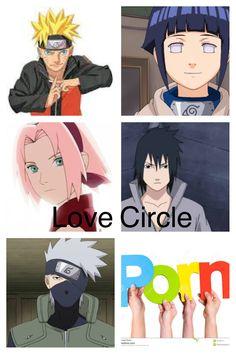 Love circle of naruto