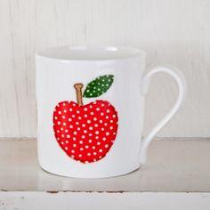 Adorable Apple Mug