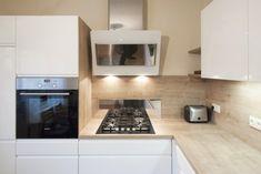 Bílou kuchyní se dřevem si paní udělala radost v důchodu Kitchen Cabinets, Kitchen Appliances, Home Decor, Diy Kitchen Appliances, Home Appliances, Decoration Home, Room Decor, Cabinets, Kitchen Gadgets