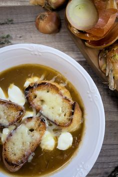 Zwiebelsuppe nach französischer Art mit Cidre | malteskitchen.de
