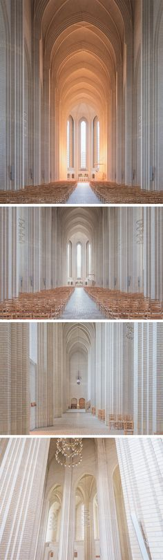 Breathtaking Interior Images of Copenhagen's Rare Expressionist Church