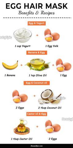 Egg Hair Mask: Benefits and Top 9 DIY Recipes