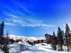 Blu sky and snow in #Trysil: Don't forget your sunglasses! at the #RadissonBlu #Norway