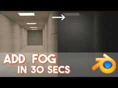 Add Fog in 30 seconds || Blender: Beginner to Better - YouTube