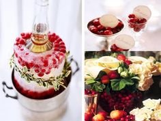 I love this idea for chilling wine or champagne.