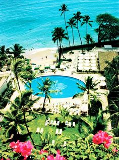 Top 10 Islands in the United States Halekulani orchid pool