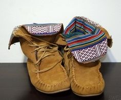Love these slouchy moccasins, look so cozy!
