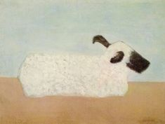 Sheep - Milton Avery