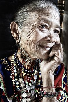 Bogobo tribal woman, from the highlands of Mindanao, Philippines via Jojie Alcantara