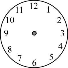 Clock Hands Clip Art