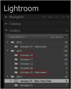 How to Organize Photos in Adobe Lightroom – PictureCorrect