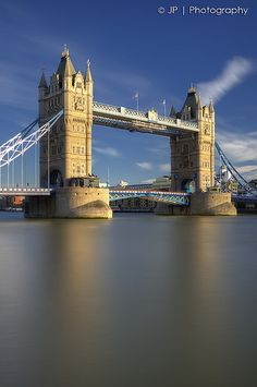 Tower Bridge. The weird moment when I know exactly where the photographer was standing to take this