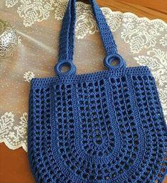 # Häkeltasche How to Make Crochet Bag: Step by Step Photos- Como Fazer Bolsa de Crochê: Passo a Passo Fotos # Häkeltasche How to Make Crochet Bag: Step by Step … - Bag Crochet, Mode Crochet, Crochet Market Bag, Crochet Shell Stitch, Bobble Stitch, Crochet Handbags, Crochet Purses, Crochet Crafts, Crochet Stitches
