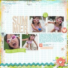 LO by Laura using Traci Reed's Summer Delights available at Sweet Shoppe Designs