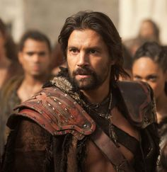 Manu Bennett as Crixus, the Undefeated Gaul, in Spartacus