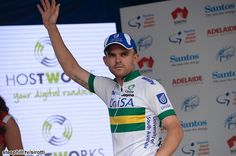 #TourDownUnder Gallery; #Stage1: Jack Bobridge (Unisa Australia) hits the stage