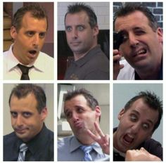 The many faces of Joe!