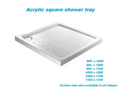 We stock shower trays in all shapes and sizes to fit with your chosen shower enclosure, including designer low profile trays. So regardless of whether you need #showertray for a quadrant, square, rectangle, we have a stylish selection of #acrylic shower trays to suit.