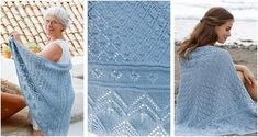 This enthralling Aretusa knitted lace shawl is the perfect accessory to carry with you wherever, whenever. Get the FREE pattern from . Lace Knitting, Knitting Ideas, Knit Crochet, Knitting Patterns, Knit Shawls, Lace Shawls, Shawls And Wraps, Free Pattern, Scarves