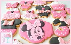 Minnie's cookies Galletas Minnie Mouse