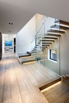 Modern Staircase Design Ideas - Search pictures of modern stairs and find design and layout ideas to motivate your very own modern staircase remodel, consisting of one-of-a-kind railings and also storage space . Contemporary Stairs, Modern Stairs, Interior Stairs, Interior Exterior, Luxury Interior, Luxury Decor, Interior Design, Studio Interior, Interior Modern