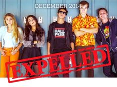 Expelled staring Cameron Dallas, Marcus Johns, Lia Marie Johnson, Andrea Russett, Teala Dunn, and Matt Shively premiers in December guys!!! I saw the trailer for this movie and it reminds me a modern day Ferris Bueller's Day Off. Can't wait to see this movie. (: