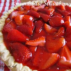 Farmhouse Strawberry Pie Recipe - ZipList