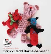 Strikk bamse for Redd Barna! Beret, Slippers, Teddy Bear, Toys, Animals, Fashion, Activity Toys, Moda, Berets