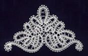 free lace patterns here; some are quite lovely Bobbin Lace Patterns, Crochet Doily Patterns, Doilies Crochet, Lace Tape, Bobbin Lacemaking, Russian Crochet, Decor Inspiration, Embroidered Lace Fabric, Lace Heart