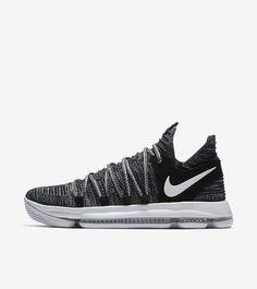 f0b0d405a4be Nike KD 10  Fingerprint  (Black   White)