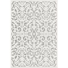 Orian Rugs Lady Bird Natural/Gray Indoor/Outdoor Area Rug (Common: 2 x Actual: W x L) at Lowe's. As regal as the Texas-born former First Lady, the Lady Bird area rug features an exquisite damask pattern in natural gray atop a medium gray base. Natural Area Rugs, Soothing Colors, Blue Bonnets, Indoor Outdoor Area Rugs, Outdoor Living, Online Home Decor Stores, Online Shopping, Colorful Rugs, Texas