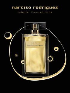 Narciso Rodriguez Oud Musc: кликните для увеличения изображения Narciso Rodriguez, Perfume Bottles, Fragrance, Cosmetics, Beauty, Design, Event Posters, Love