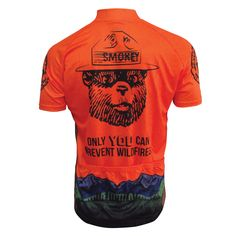 Smokey Bear Cycling Jersey - FREE Shipping on great cycling jerseys at cyclegarb.com