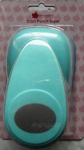 Woodware Super Punch 2 inch Ellipse 830-19