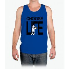 Choose life by George Michael - Mens Tank Top