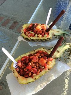 Pina loca,pineapple,watermelon,cucumber,japenese peanuts,strawberries chamoy limon and tajin....