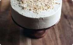 Coconut icebox cake
