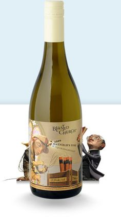 Blasted Church - Hatfield's Fuse 2011 Complex aromas of tropical and orchard fruits with a hint   of citrus.