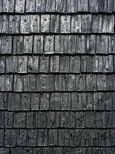 Charred wood exterior siding. Kärsämäki Church / Anssi Lassila – Lassila Hirvilammi