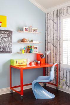kids room | skateboard shelves