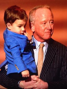Archie Manning with Peyton 's son.